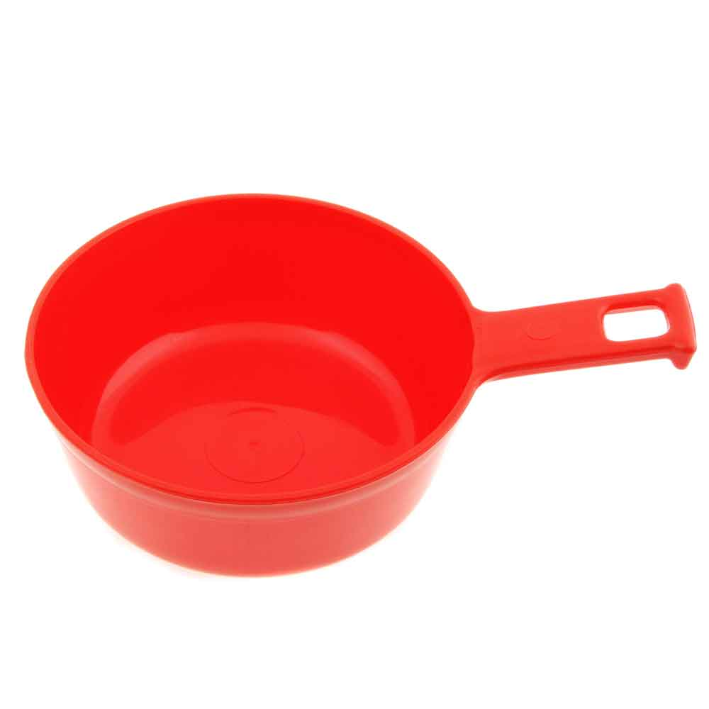 Stor Mugg 0,8 liter Rød