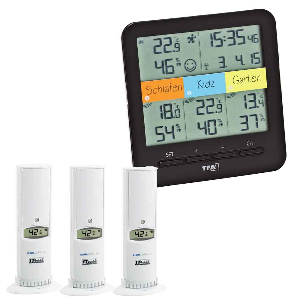 Indeklima Display Termo-Hygro sensorer til Weather Hub Wifi vejrstation - Wi-Fi  Weather Hub sensorer - Campingnetshop.dk 2ff5037635c23