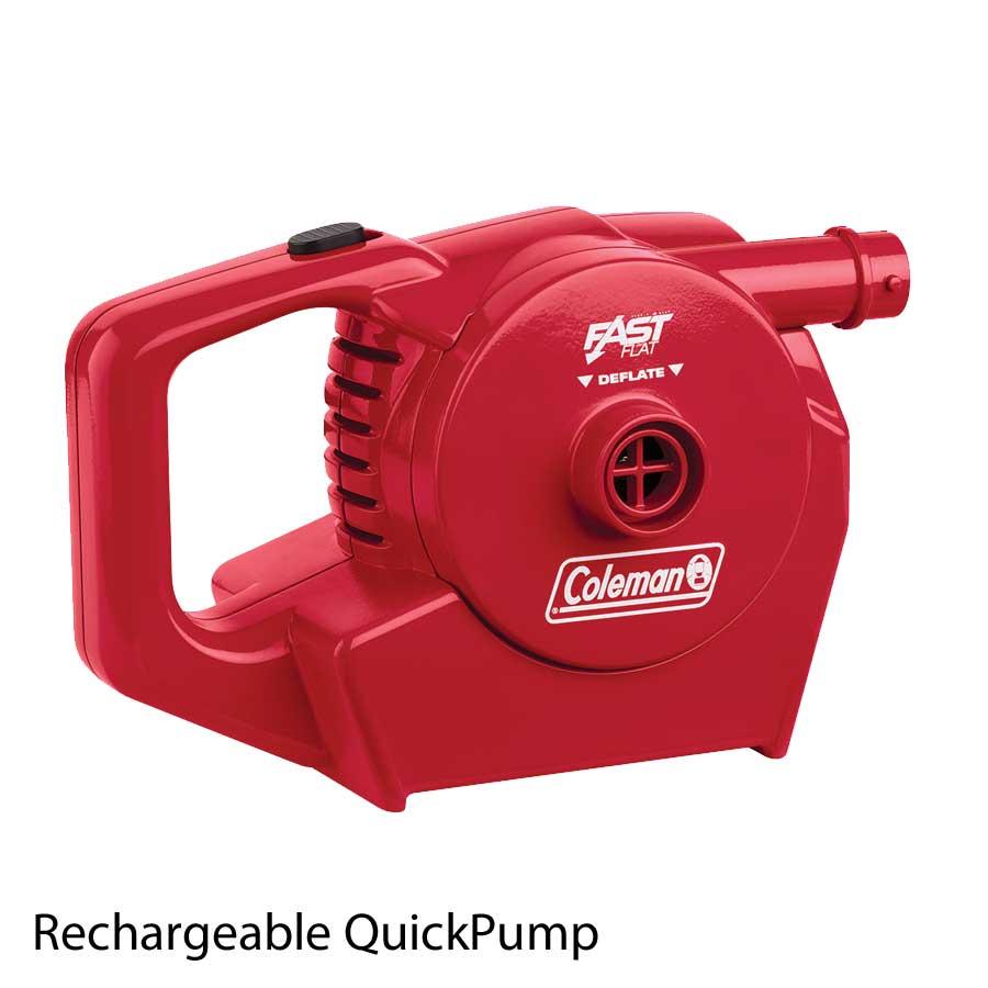 quickpump oppladbar 12 230 volt pumpe coleman elektriske luftpumper. Black Bedroom Furniture Sets. Home Design Ideas