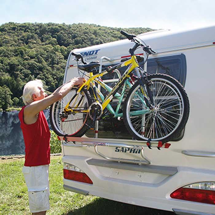 Sykkelstativ til campingvogn og bobil Campingnetshop
