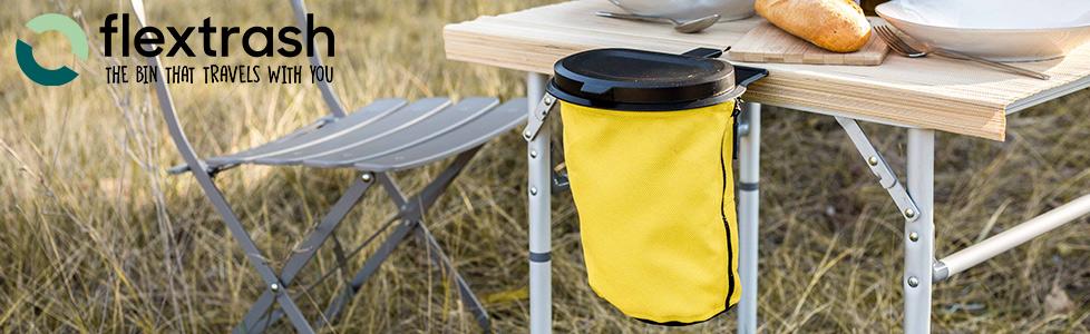 Flextrash   Flexible trashbins made of recycled materials