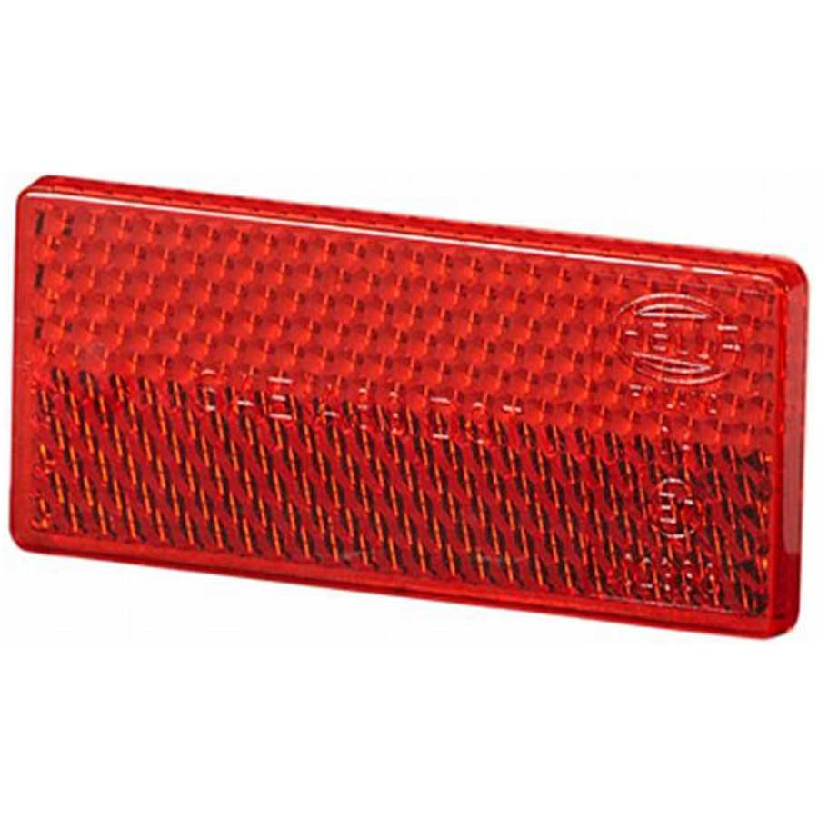 Refleks rød, 38 x 56 mm, selvklæbende