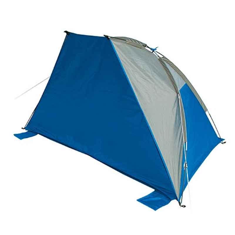 Pop up telt UV40 + lyseblå mørkeblå gratis forsendelse