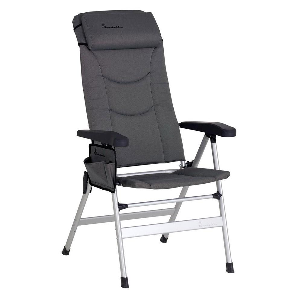2 x Isabella Thor Folding Caravan Chair /& Bag LIght Grey Home Garden Camping
