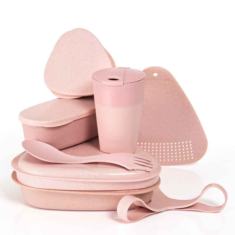 Light My Fire - MealKit BIO (8 dele) Dustypink