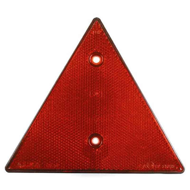 Trekantrefleks, rød