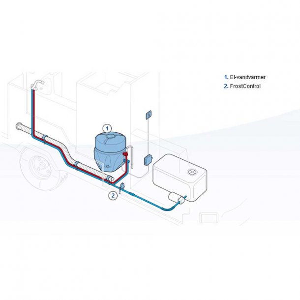 truma boiler b14 gas 230v vannvarmer el vannvarmere. Black Bedroom Furniture Sets. Home Design Ideas